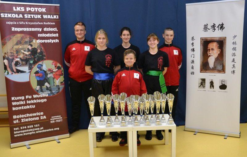Zawody sztuk walki federacji Kuoshu w Neu-Ulm 12.10.2019
